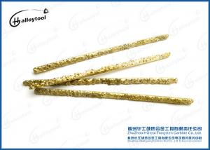China Cu Tungsten Carbide Composite Welding Rods With Unground Surface on sale