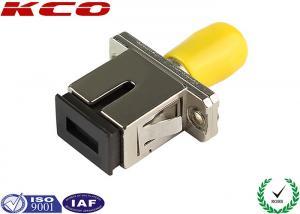 China High Reliability Fiber Optic Adapter SC/UPC - ST/UPC , Fiber ST To SC Adapter on sale