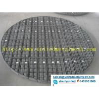corrosion resistance stainless steel Round Shape Wire Mesh Demister Pads