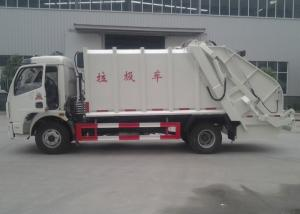 China 5CBM Compressed Garbage Compactor Truck Refuse Collection Vehicle on sale