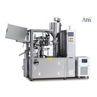 China Fully  Automatic Tube Filling And Sealing Machine Compact Design 80rpm Speed on sale