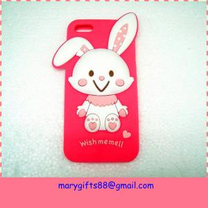 China Amazing cartoon animal shape cell silicone phone case supplier