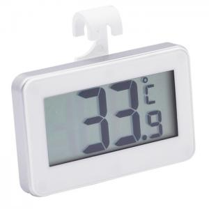 China Digital Indoor Refrigerator Freezer Thermometer With Large Led Display on sale