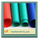 Fireproof PVC Coated Plastic Tarpaulin Abrasion-Resistant for Exterior use