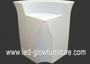 China PE plastic adaptor and battery Led outdoor furniture for Exhibition Display , Wedding on sale