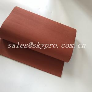China Textured Soft Silicone Sponge Rubber Sheet , Density 0.4~0.9 G/Cm3 on sale