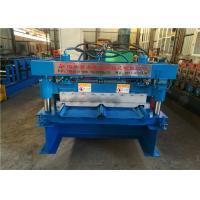 Clip Lock Panel Standing Seam Metal Roof Machine Solid Roller Type 470 760 820