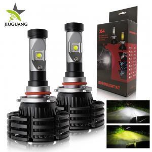China X4 Automotive Led Light Bulbs , H7 Led Headlight Bulb 8000 Lm Decoder on sale