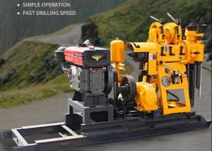 China 15KW Portable Diesel Borehole Small Water Well Drilling Rig on sale