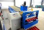 Chromadeck Roofing Sheet Roll Forming Machine Length Adjustable Hydraulic Cutting System