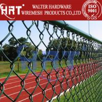 China PVC coated used chain link fencing for sale on sale