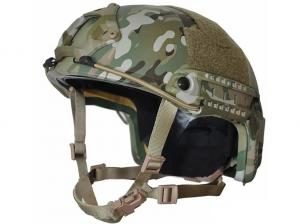 China Level IIIA Ballistic Helmets For Law Enforcement Dual Lateral Rail System on sale