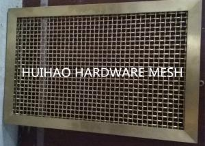 China Customized Degin Metal Frame Decorative Wire Mesh For Parking Garage Mesh Fence on sale