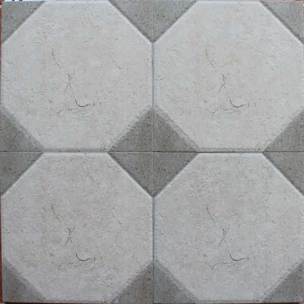 Low Water Absorption Ink Jet Printing Glazed Rustic Ceramic Tiles