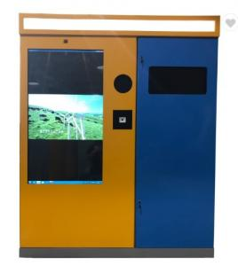 China Plastic bottle Smart Recycler Machine RVM Intelligent Reverse Vending Machines on sale