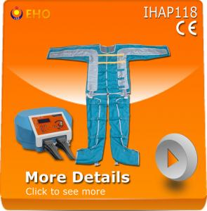 China Good way to cure lymphedema!!! IHAP118 pressure suit for lymphatic massage therapy on sale