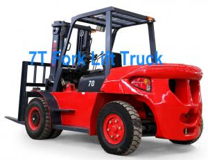 China 7T H70 Diesel Engine Fork Lift Truck on sale