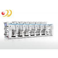 Gravure Printing Machine , Rotogravure Printing Press 600mm Printing Width