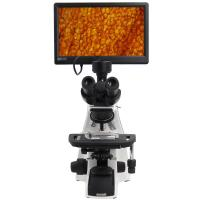 "Biological Compound Video Digital Microscope / 12.5"" Lab Trinocular Profesional Pantalla Lcd Microscope"