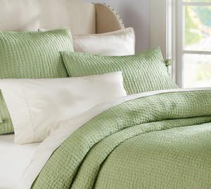 China Comfortable Linen Cotton Quilt Sets , Home 3 Pcs Queen Size Quilt Sets on sale