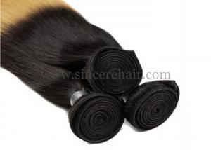 China 18 Ombre Hair Extensions Weaving Weft for Sale, 45 CM 100 Gram Straight OMBRE Human Hair Weft Extensions For Sale on sale