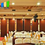 Aluminum Frame Detachable Folding Acoustic Movable Glass Decorative Partition Wall For Multi  - Function Room