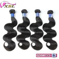 China XBL Wholesale Indian Remy Human Hair Weft Virgin Unprocessed 100 Human Hair Extension on sale