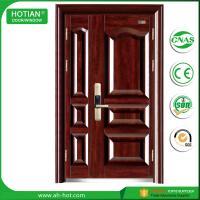 New door design main gate wrought iron exterior steel door made in china