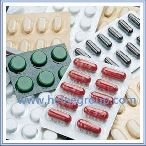 China PVC/PVDC barrier Film for Blister packaging in pharmaceuticals on sale