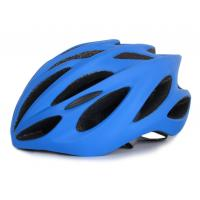 Custom Bicycle Helmet With Visor , 22 Hole Youth Bike Helmet In Mold