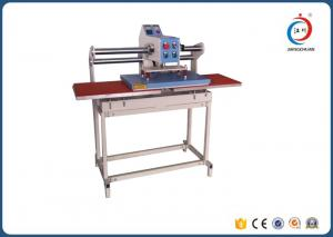 China Automatic Pneumatic T Shirt Printing Equipment Double Station Textile on sale
