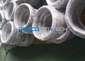 Quality EN10216-5 300 Series Stainless Steel Coiled Tubing Bright Annealed Surface For Fuild for sale