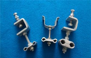 China Hot-Dig Galvanized Optical Fiber Cable Clamp Adss Cable Fittings on sale