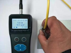 China Paint Coating Thickness Gauge Weight Measurement Mini Usb Interface For Communication on sale