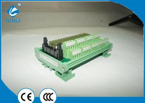 China 16 Channel DC 24V PLC Relay Module With Connectors Interface Board JR-B16PC-F on sale