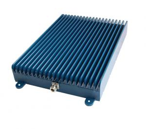 China Dual Band Diplexer Mobile Signal Repeater 20DB Power With Blue Metal Cover on sale