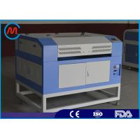 China 60w Small Plastic Laser Cutting Machine Blade Table Sealed Co2 Glass Tube on sale