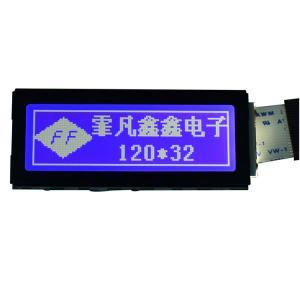 China 2.35 Graphic Dot Matrix Display Module 67.85*27.5mm For Communication Equipment on sale