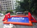 Durable Football Player Catch Inflatable Soccer Field 100% Air Sealed