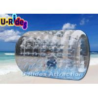 Cylindrical Water Inflatable Zorb Ball , Adults Human Bubble Balls For Adults