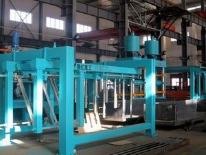 China Annual output 100000CBM light weight AAC block production line on sale