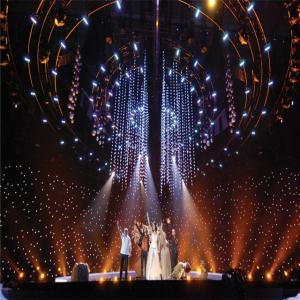 China High Quality pipe and drape/Led Star Curtains for event backdrop on sale