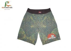 China Custom Mens Long Board Shorts , Underwear Beach Swim Trunks Sublimation Printing on sale
