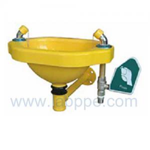 Quality SHB100Y-Wall mounted Emergency safety eye wash,G.I. for sale