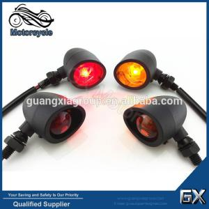 China Motorcycle Custom Vintage ABS Turn signal, Chopper Turn Signal Light Blinker on sale