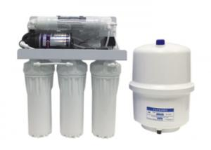 China 50GPD RO-50 5 Stage Reverse Osmosis Water Filter With 3.2G Steel Pressure Tank on sale