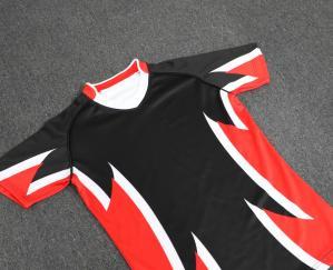 China Custom jersey football soccer team uniforms, football rugby jersey shirt, football jersey soccer jersey uniform on sale