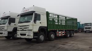 China howo(sinotruck) truck ZZ1257S4641 LHD 8*4 heavy cargo truck with big capacity on sale