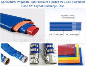China Heavy Duty Garden Sacks Twin Welding Hose PVC Anti Static  EN13432 on sale