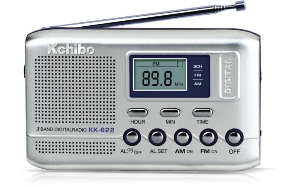 KCHIBO KK 622 DIGITAL RADIO AM FM TWO BAND PORTABLE RECEPTION Images